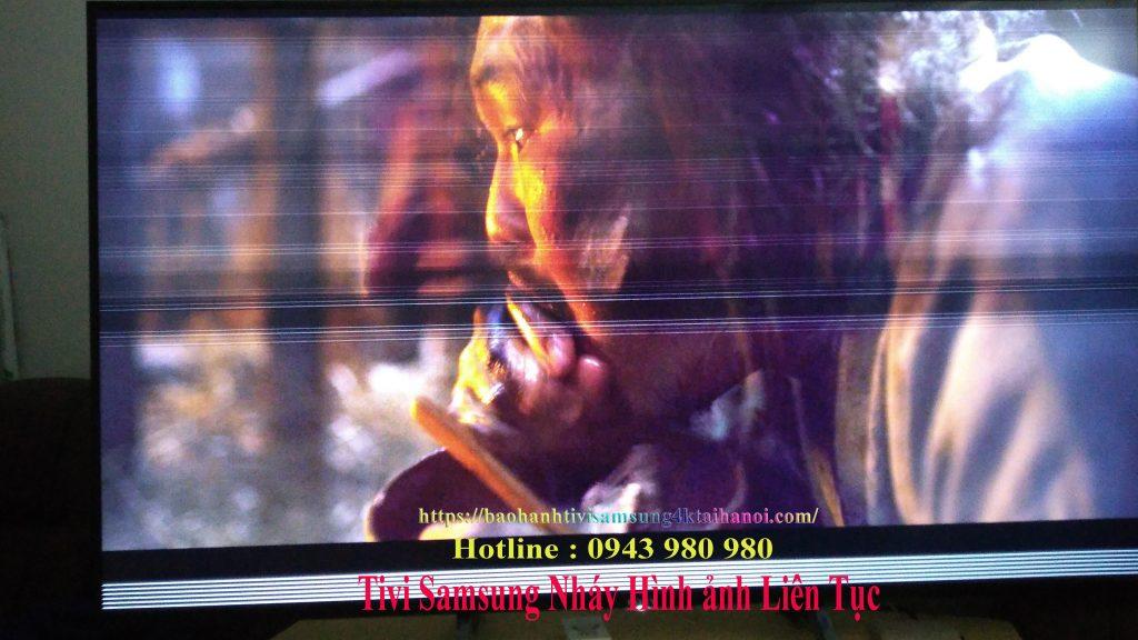 màn hình tivi samsung nhảy liên tục