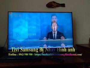 tivi samsung bị nháy nháy màn hình