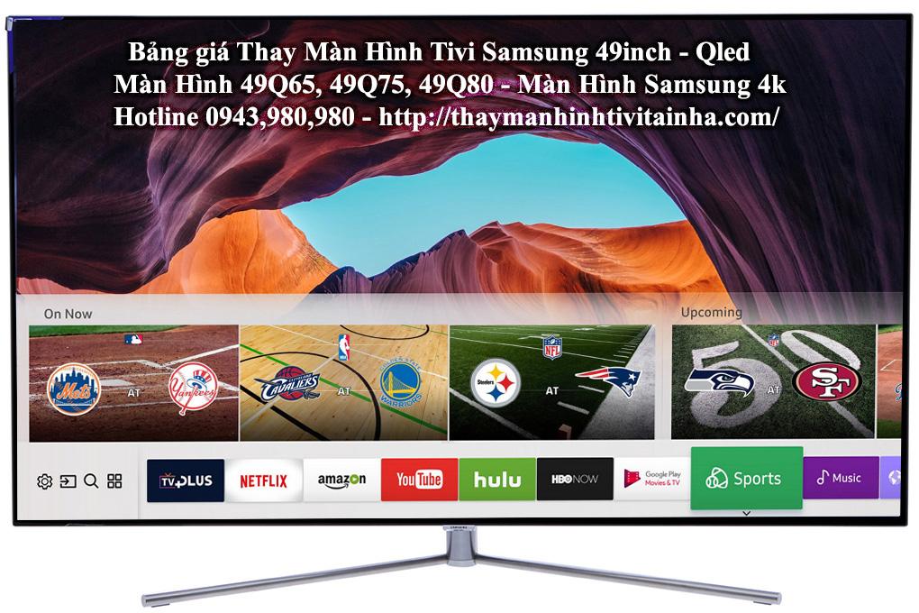 thay màn hình tivi samsung 49inch tại nhà