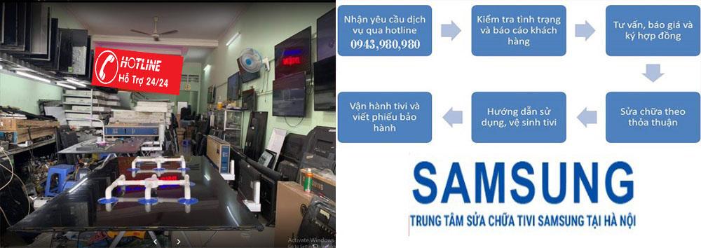 Dịch vụ sửa tivi samsung sau bảo hành